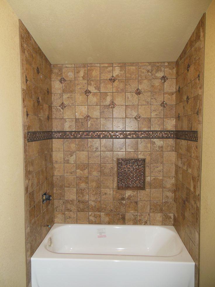 82 best tile ideas images on pinterest bathroom for Bathroom decor riverton