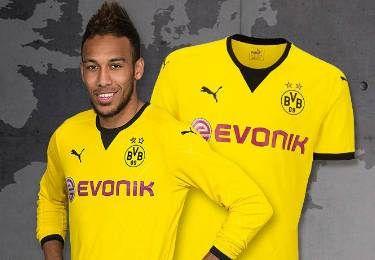 Borussia Dortmund 2015/16 PUMA Europa League Home Kit
