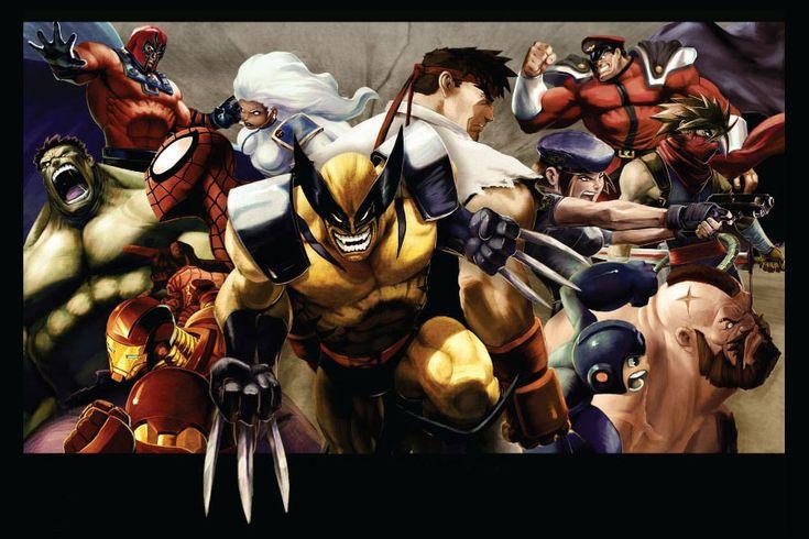 17 Best images about Marvel vs Capcom 2 (2009) Art ...