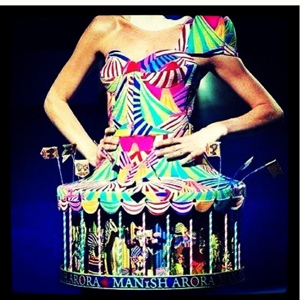 Crazy carnival dress!