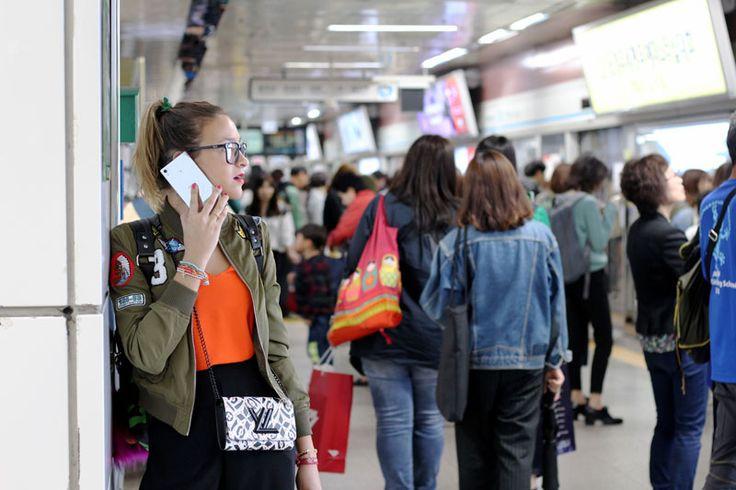 Metro de Seoul Korea del Sur