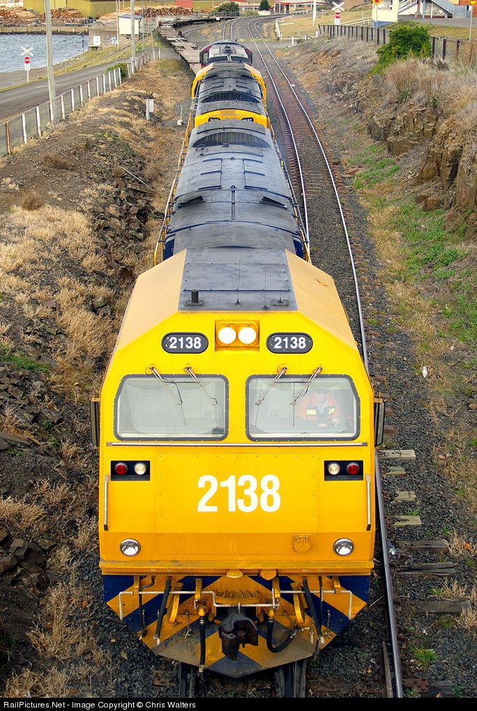RailPictures.Net Photo: 2138 Pacific National Tasmania PNT MKA Class at Hobart, Australia by Chris Walters