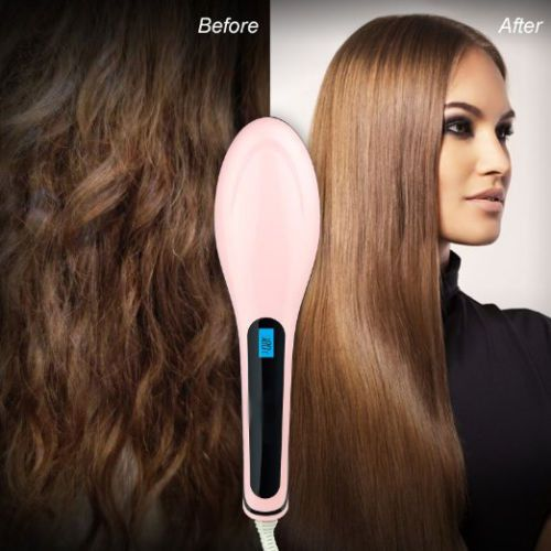 The ORIGINAL Hot Brush - Digital Hair Straightener Brush so does this actually work Cuz if so I'm sold