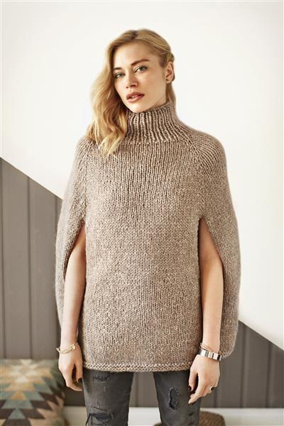 Very simple, but so elegant poncho idea! Find similar at http://mandysheaven.co.uk/ - Womens Fashion Boutique UK - Cambridge Style