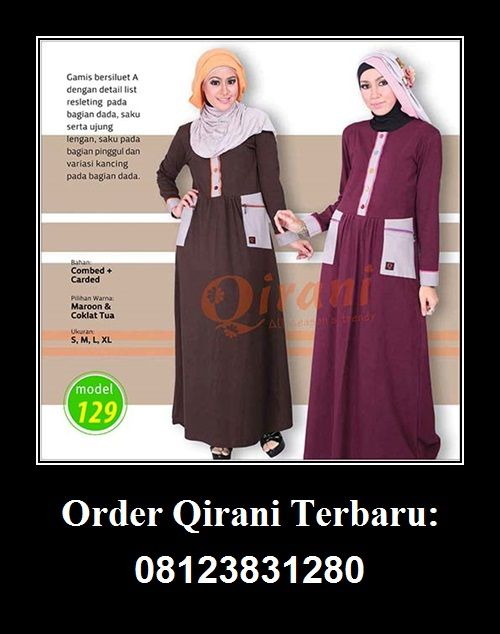 Qirani model 129 Hubungi: Whatsapp : +62 812-3831-280  SMS : +62 812-3831-280  BBM : 5F03DE1