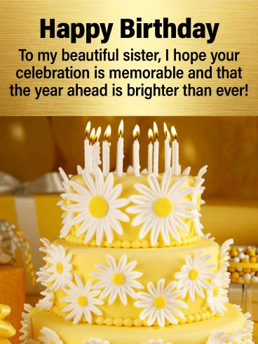 178 Best Birthday Cards For Sister Images On Pinterest