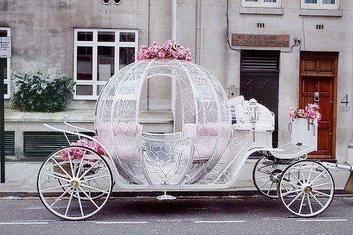 Fairytale #wedding car. What do you think?