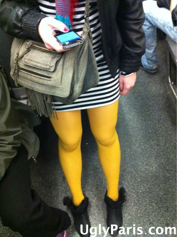 Fashion faux pas in Paris : ugly outfits are everywhere ! photo 2
