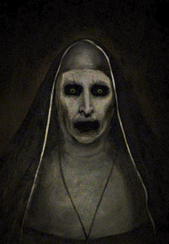 Portrait Of The Nun Aka Valak In The Conjuring 2 James Wan