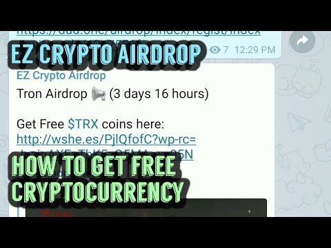 How to get free Cryptocurrency with Airdrops  | FREE