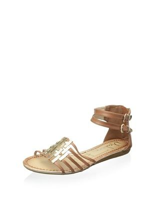 42% OFF Modern Rush Women's Gia Ankle Strap Sandal (Tan)