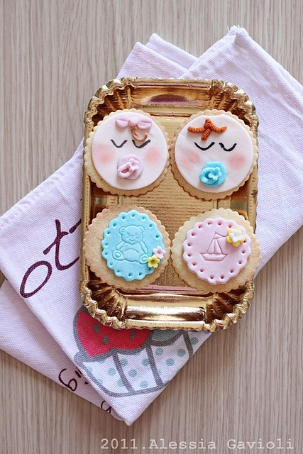 cookies per un baby shower :)