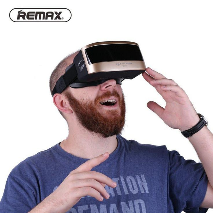 Remax RT-V03 All In One Virtual Reality Glass Headset Anti Blue Ray 3D