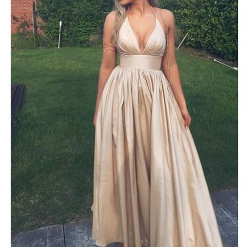 Elegant+prom+dress,+halter+prom+dress,+long+prom+dress,+cheap+prom+dress,+simple+prom+dresses,+v+neck+prom+dress,+champagne+prom+dress,+NDS367 This+long+prom+dress+could+be+custom+made,+there+are+no+extra+cost+to+do+custom+size+and+color. Description+of+long+prom+dress 1,+Material:+taffeta...