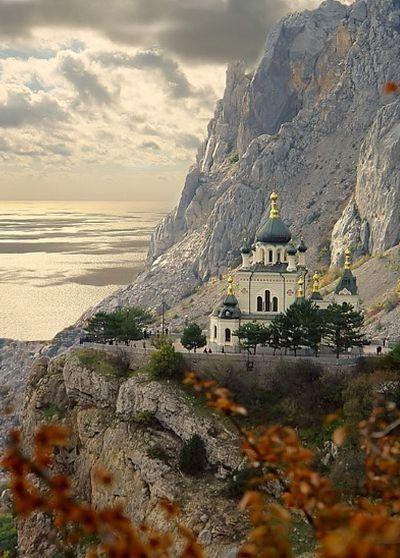Catedral Ortodoxa De Foros en Crimea, Ucrania