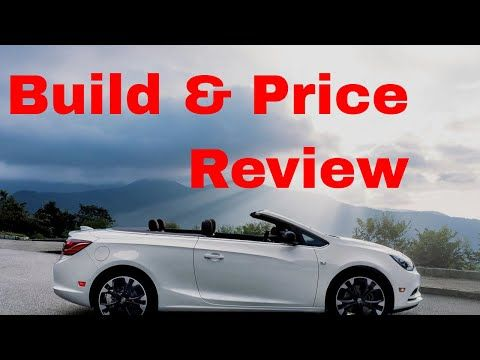 If You Can Afford A Luxury Convertible And You Want It Fully Loaded And Under 40k All In Take A Close Look At The 2019 Bui Buick Cascada Sport Touring Buick