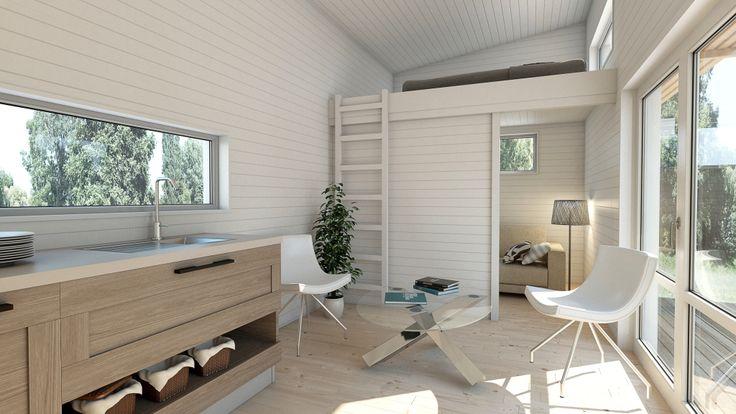 Köp Attefallshus med loft hos Helahuset.se