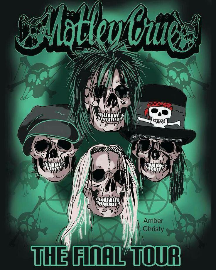 Motley crue final tour...Yes I'm going to see them July 13 with my Sister!!!