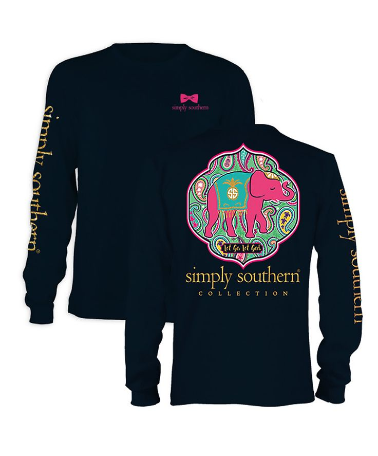 Simply Southern - Let God Long Sleeve Tee