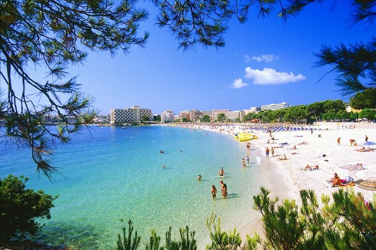 Palma Nova, Mallorca - beautiful boardwalk here...not to mention the beach