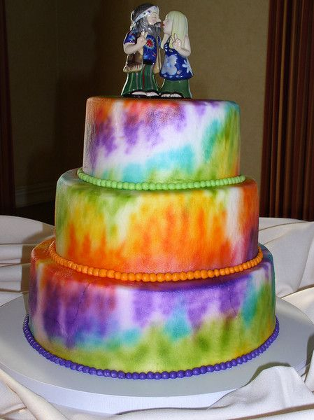 Best 25 Hippie Cake Ideas On Pinterest