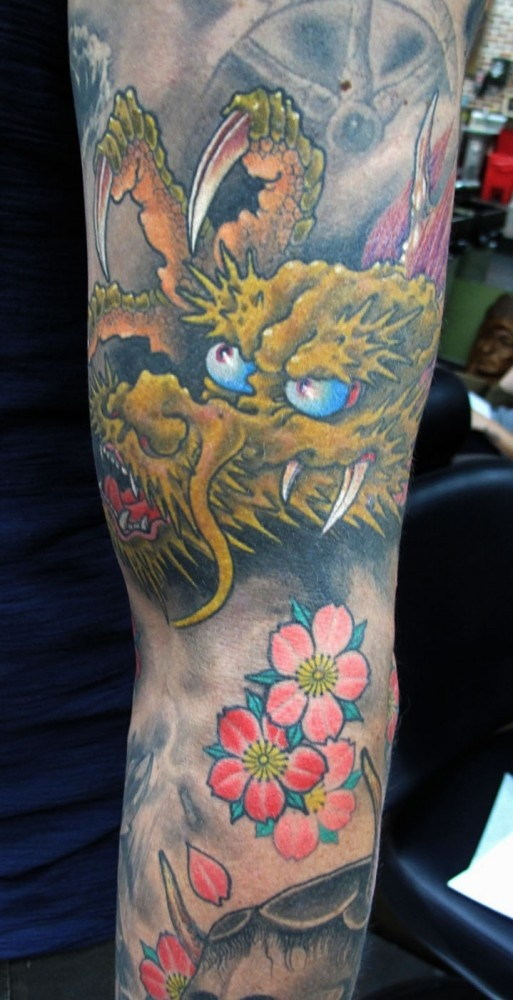 chris spealler arm tattoo - photo #42
