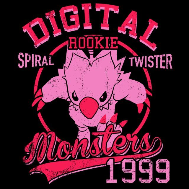 Spiral Twister T-Shirt $12.99 Digimon tee at Pop Up Tee!