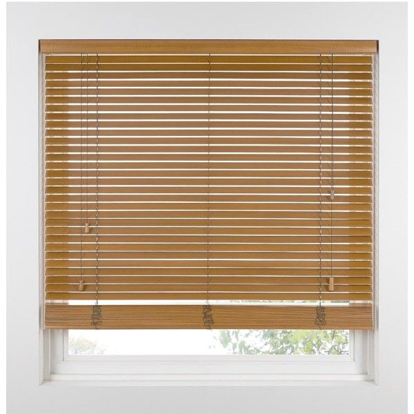 Made To Measure 35 Mm Wooden Venetian Blinds 66 CAD Liked On Polyvore Featu