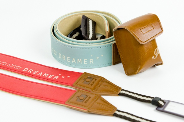 """The Tokyo Dreamer Strap - A strapping strap fit for camera-toting fashionistas. ($24.00, http://photojojo.com/store)  """"Today, I'm just a dreamer, dreaming my life away."""": 24 00, Birthday Presents, Straps Fit, Dreamers Camera, Camera Straps, Tokyo Dreams, Tokyo Dreamers, Camera Tots Fashionista, Fun Camera"""