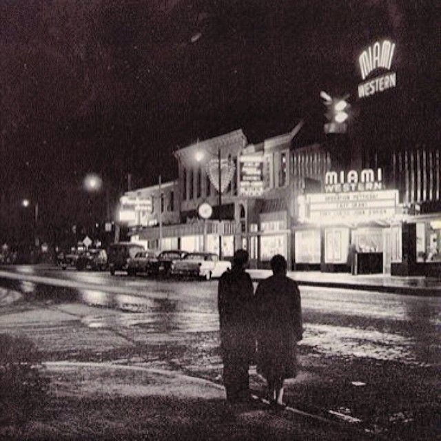 Throwback to what uptown used to look like in 1960! #tbt