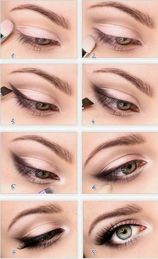 Beautiful step by step eyes makeup - Page 10 of 15 - fashion-style.es