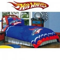 Want to have race theme bedroom for yourself or your child? Check out some Hot Wheels bedding and bedroom decor below. They are great for decorating...