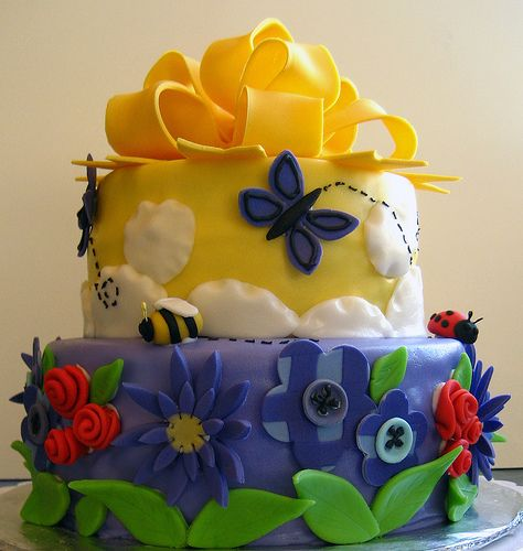 Summer Cake by disneychick, via Flickr