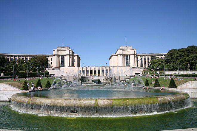 Palais de Chaillot, Paris, France.