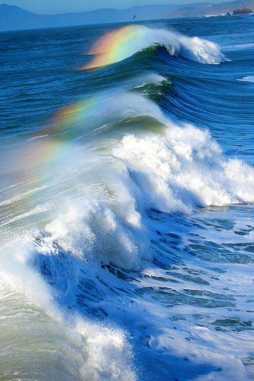 Rainbows on the Water, Pacifica, California Ke mana Jewelry - http://www.kemanajewelry.com/