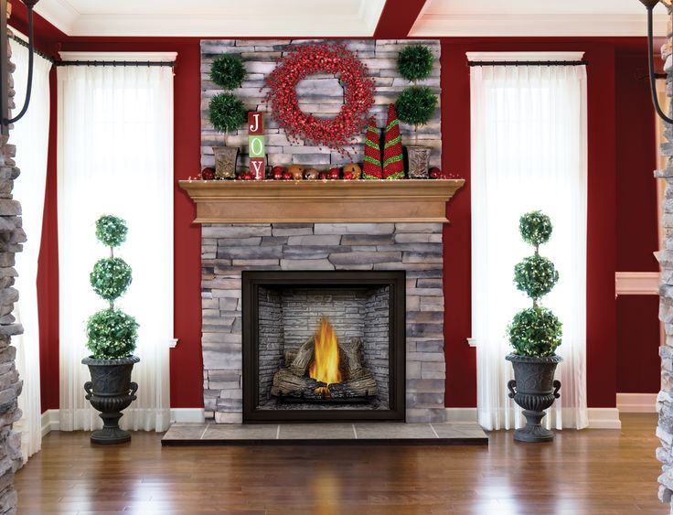 Created with Napoleon's state-of-the-art gas fireplace technology, the STARfire™ 52 gas fireplace offers a wide range of heat output and advanced burner technology that produces a massive concentrated flame that reaches high in the firebox creating a glowing ambiance throughout the interior.