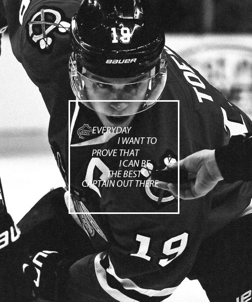 People just have to believe in me and I won't go down till I prove it - Jonathan Toews