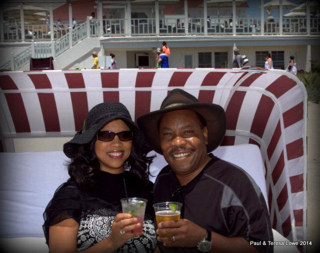 Ahhh, a cabana day at Hotel del Coronado. You will love it!