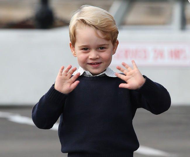 prince george waves