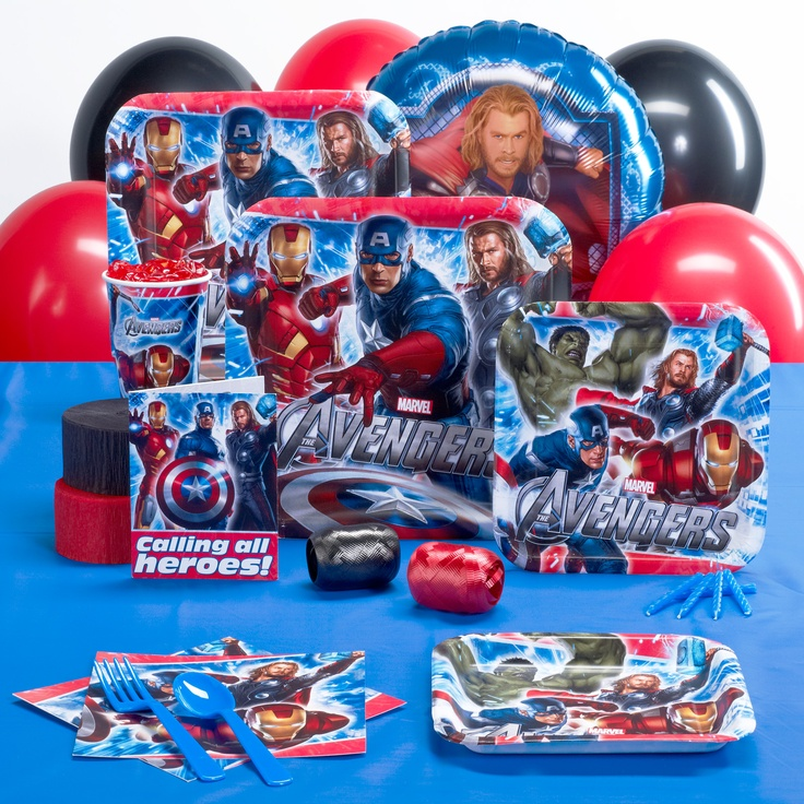 Avengers Birthday Party Supplies  Kids Birthday Ideas  Pinterest