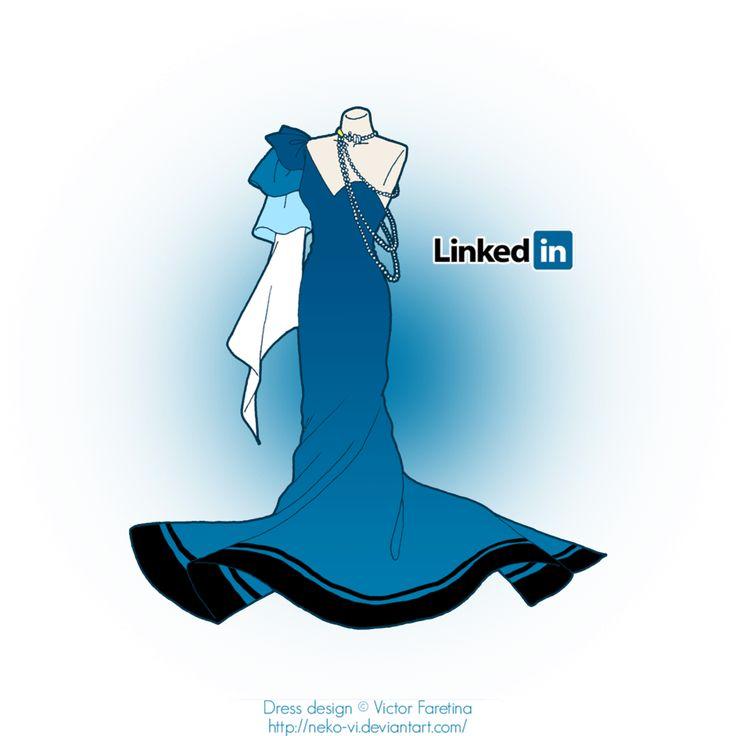 LinkedIn in Fashion by *Neko-Vi on deviantART - Love the sleave