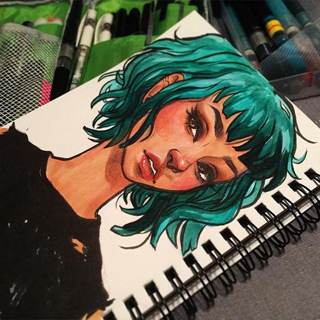 #sketch #sketchbook #illustration #artistsoninstagram #art #watercolor #doodle