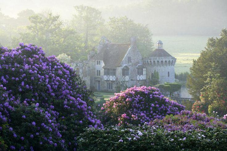 "pagewoman: "" Scotney Castle, Lamberhurst, Kent, England """
