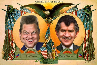 Denny Rehberg vs. Jon Tester - an unbiased comparison of their policies and positions on Diffen.com