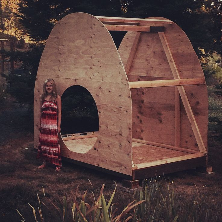 Hobbit House Shed: New Location Of Clubhouse...amongst Redwoods.