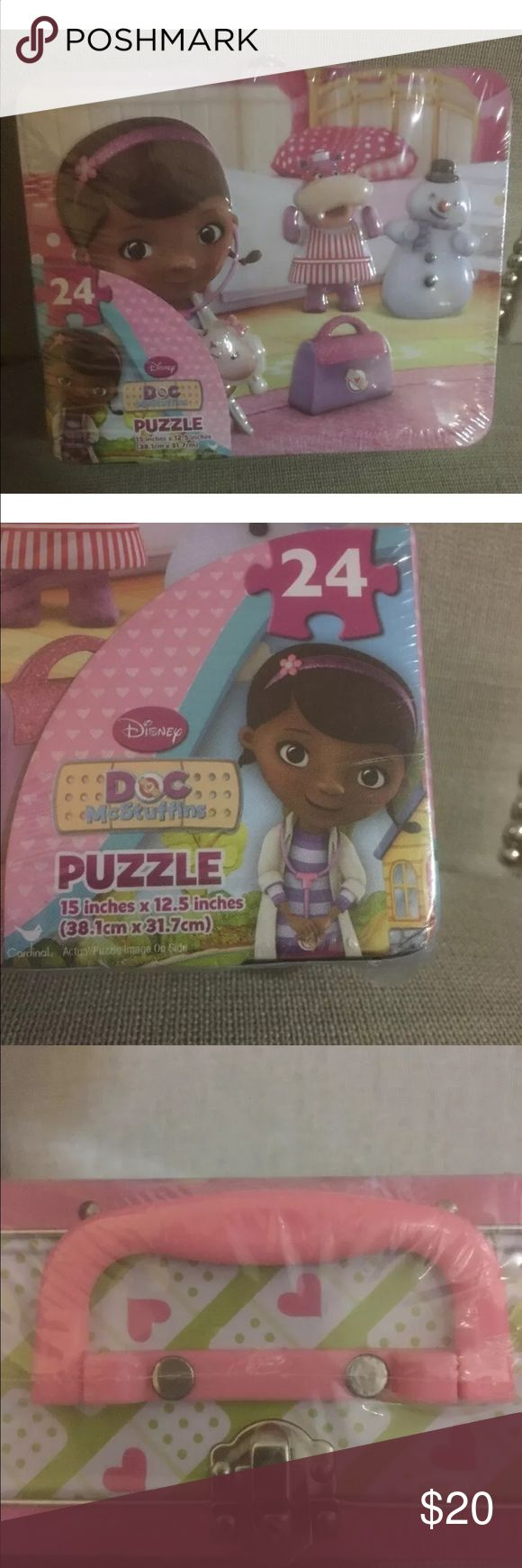 Doc mc stuffins lunch box Doc mc stuffins lunc box with puzzle in box Accessories Bags