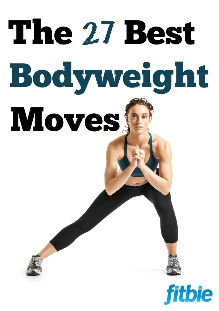 Work your arms, legs, and abs with these killer do-anywhere exercises -- no gear required! | Fitbie.com