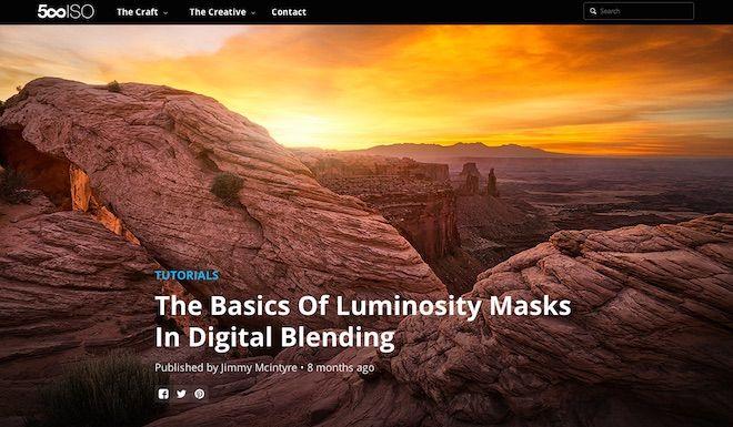 Tutorial: Luminosity Masks