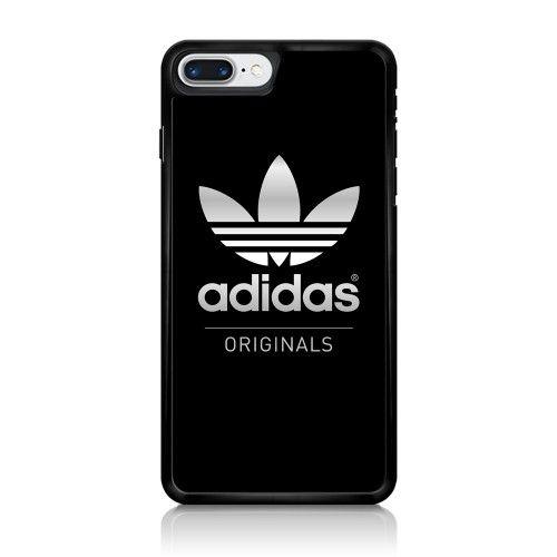 Adidas Silver Logo Original Black iPhone 7 Case