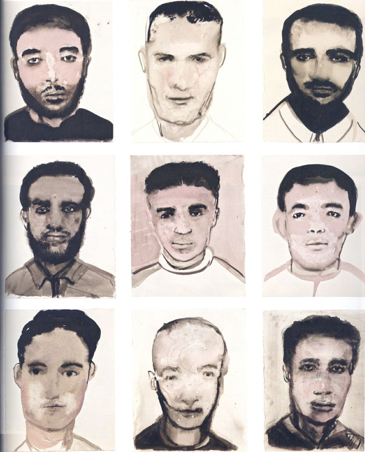 """""""This essay aims to explore the methods by which Marlene Dumas engages with issues of perception and stereotype by exhibiting groups of portraits painted from mediated photographic images.."""""""